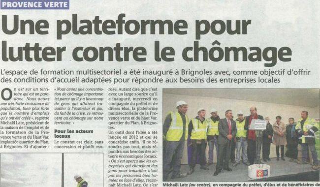 Brignoles inauguration plateforme MDE-dec2013-resize