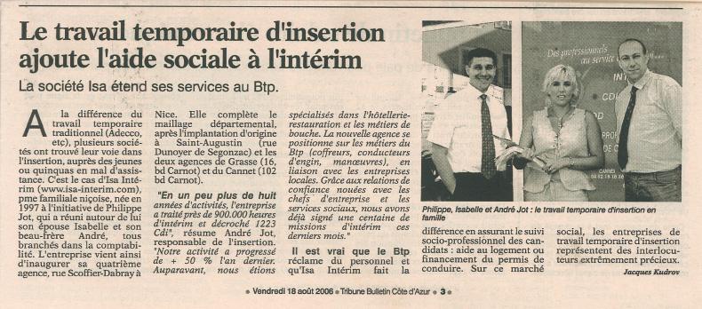 InaugurationIsaBTPNice-2006